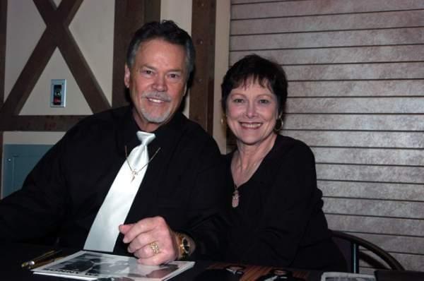 Judy Jordan and Sonny West