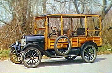 1923 Star Woody             Station Wagon