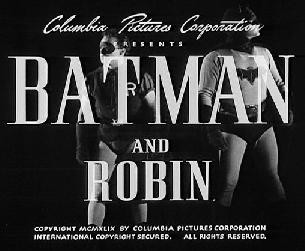 Batman & Robin 1949