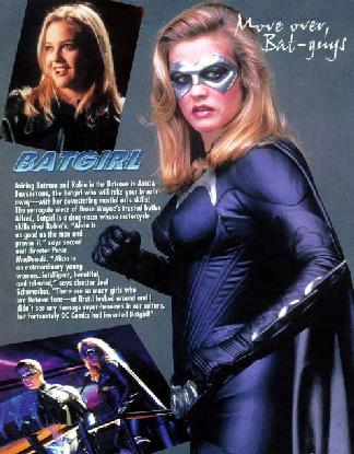 alicia silverstone batgirl. Alicia Silverstone as the