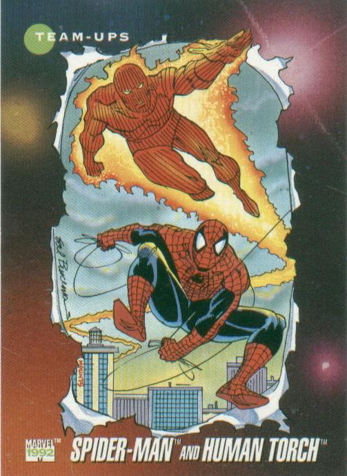 Spider-Man Human Torch