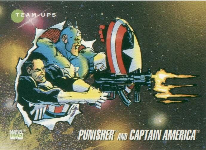 Punisher & Captain America